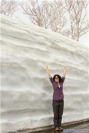 There's still a little snow left at Yukichichibu Onsen, uploaded by MikePow