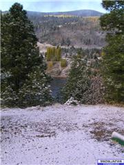 First snow of the year. Oct 30 2006, uploaded by Toque