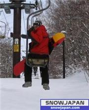 Off to the snow!! Ont he way up to Ichinose, uploaded by farquah  [Shiga Kogen Ichinose Family, Yamanouchi Town, Nagano]