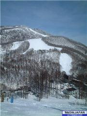 The view to the top of the ski area, North Mountain, uploaded by ghazenberg  [Hakuba Valley Kashimayari, Omachi City, Nagano]