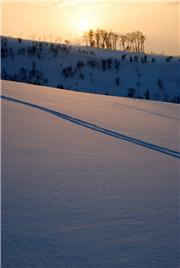 Sunset from East Mountain #1, uploaded by jay7one7  [Rusutsu Resort, Rusutsu Village, Hokkaido]