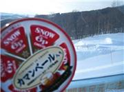 Snow Cheese wants to ride the rails, uploaded by kokodoko  [Furano, Furano City, Hokkaido]