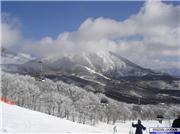 Beautiful peak shrouded in clouds., uploaded by mlafleur  [Hoshino Resort Alts Bandai, Bandai Town, Fukushima]