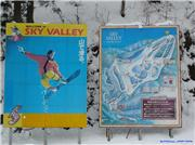 Posters at bottom of main lift, uploaded by onehunga  [Sky Valley, Kami Town, Hyogo]