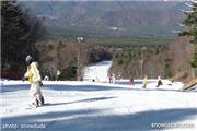 A view from the top, uploaded by snowdude1  [Fujiten Snow Resort, Narusawa Village, Yamanashi]