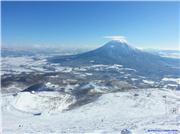View from the top lift of Grand Hirafu, uploaded by tabaluka  [Niseko Mountain Resort Grand Hirafu, Kutchan Town, Hokkaido]