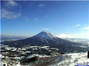 Mt Yotei from top of Hirafu, uploaded by uggggllllyyyy  [Niseko Mountain Resort Grand Hirafu, Kutchan Town, Hokkaido]