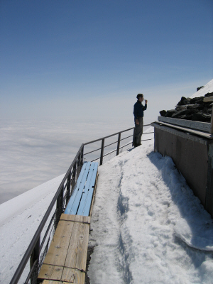 Boarding Mt Fuji