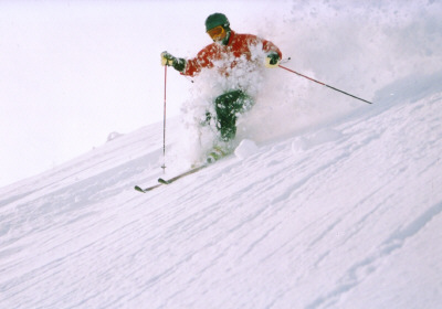 Snow Japan - Ian in Pow