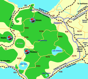 Hokkaido World Map.Snowjapan Maps Ski And Snowboard Resort Travel Maps Snowjapan